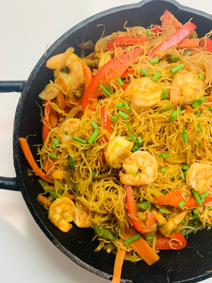 Shrimp Singapore Noodles