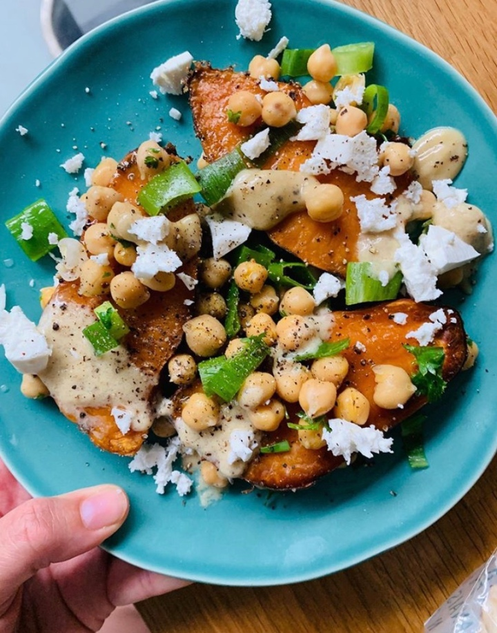 A Vegetarian's Dream Sweet PotatoDinner