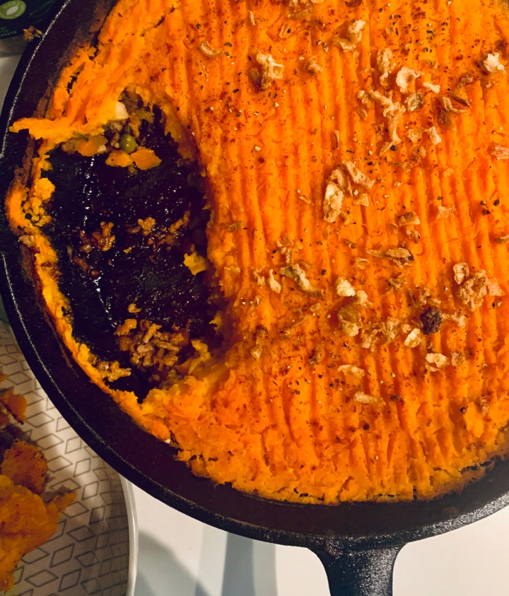 Shepherd's Pie with Sweet Potato
